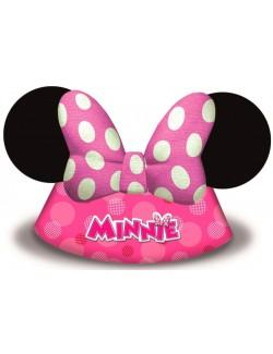 Set 6 Palarii de petrecere Minnie Mouse