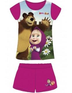 Pijama fete, Masha si ursul, 4 - 6 ani