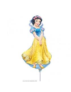 Balon folie Alba ca zapada, 43 x 24 cm