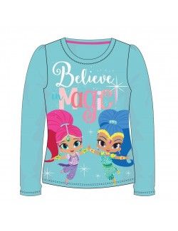 Bluza Shimer si Shine Magic, fete 3 - 8 ani, bleu