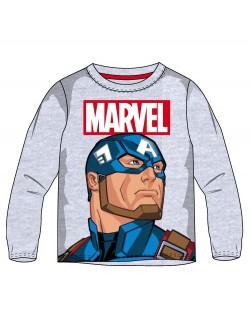 Bluza baieti, Captain America, 4 - 9 ani, gri