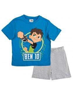 Set Tricou si pantaloni scurti, Ben Ten, albastru-gri, 3-8 ani