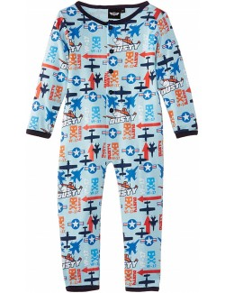 Pijama salopetă Disney Planes, bleu, copii 2-5 ani
