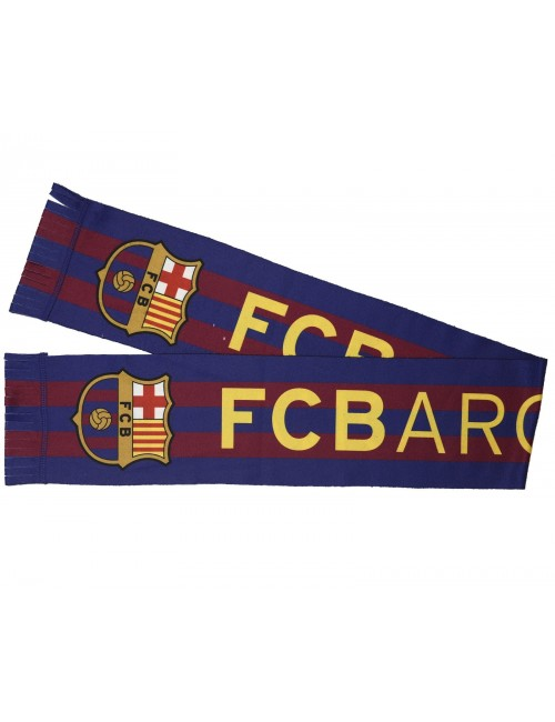 Fular FC Barcelona, 15 x 125 cm, polar fleece