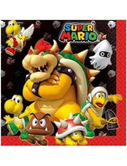 Servetele de masa, Super Mario, 33 cm