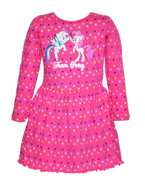 Rochie My little Pony, roz, fete 3-8 ani