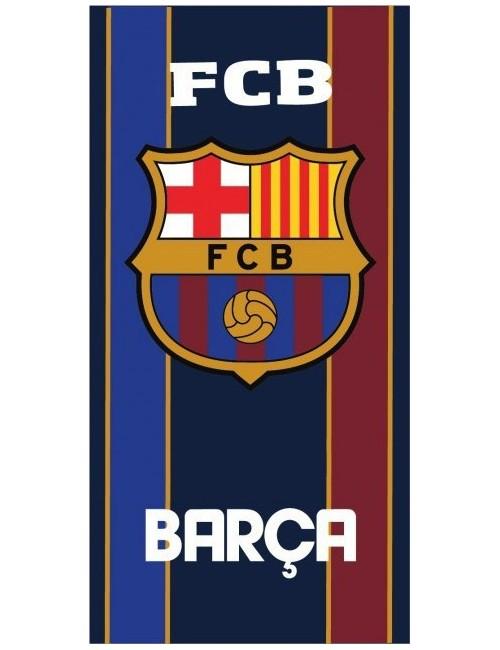 Prosop plaja FC Barcelona emblema, 70 x 140 cm