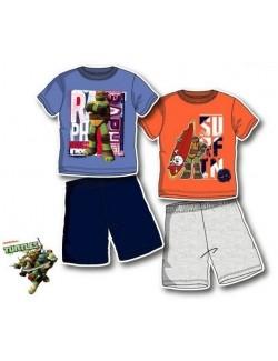 Pijama Testoasele Ninja, baieti 3-8 ani