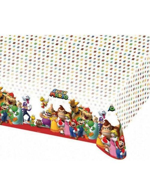 Fata de masa petrecere, Super Mario, 120 x 180 cm