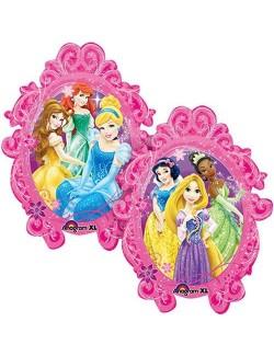 Balon folie Printese Disney - medalion, 78 x 63 cm