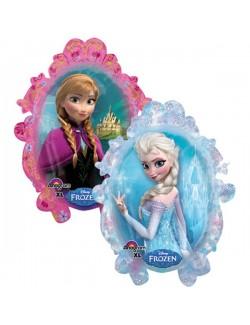 Balon folie Ana si Elsa Disney Frozen, 78 x 63 cm