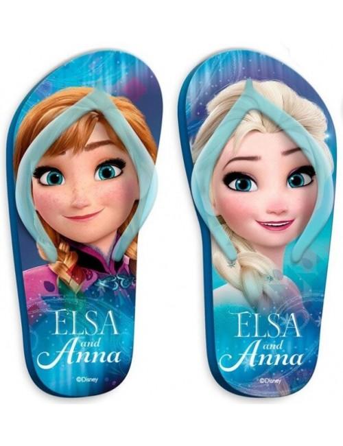 Papuci plaja Frozen Ana si Elsa, 27-34