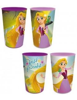 Pahar plastic, Rapunzel Printese Disney, 280 ml