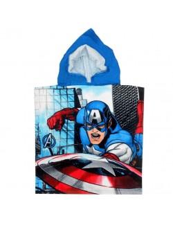 Prosop poncho Captain America, 50 x 100 cm