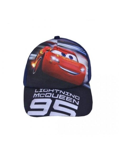 Sapca Disney Cars Fulger McQueen, 52-54