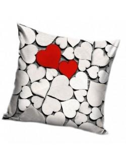 Fata de perna inimioare Valentine's Day, 40 x 40 cm