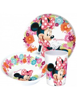 Set masa Minnie Mouse, 3 piese