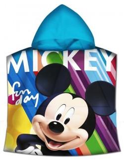 Prosop poncho, Mickey Mouse Fun Day, 60 x 120 cm