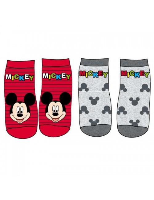 Set 2 sosete bebelusi, Mickey Mouse, 15-22