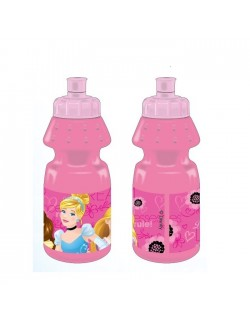 Bidonas apa, Printese Disney, 400 ml, plastic