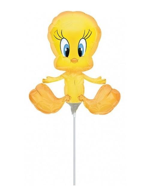 Balon folie Canarul Tweety, 28 x 25 cm