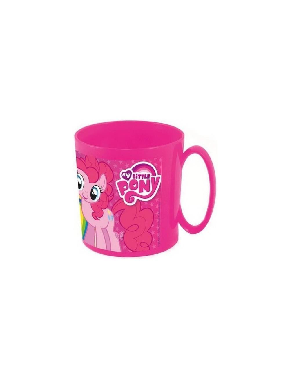 Cana microunde 350 ml, My little Pony, fucsia