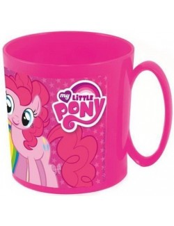 Cana microunde 350 ml, My little Pony, fucsia