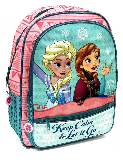 Ghiozdan Disney Frozen Ana si Elsa, 41 x 33 cm