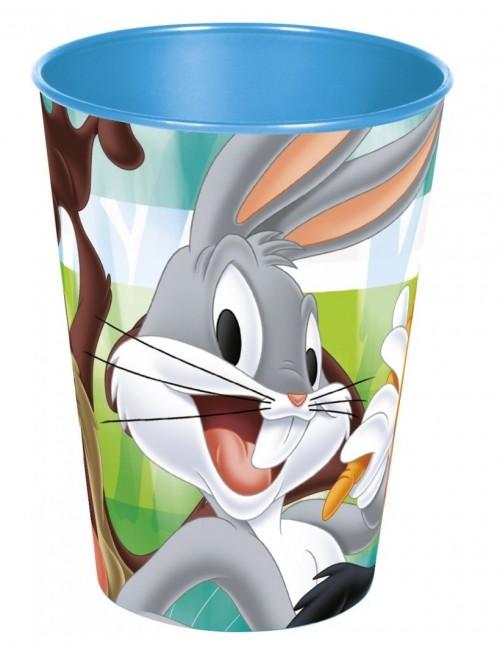 Pahar plastic, Looney Tunes, 260 ml