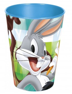 Pahar plastic, Looney Tunes, 260 ml