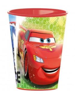 Pahar plastic, Disney Cars, 260 ml