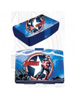Cutie pranz Avengers Captain America, 16x11x5 cm