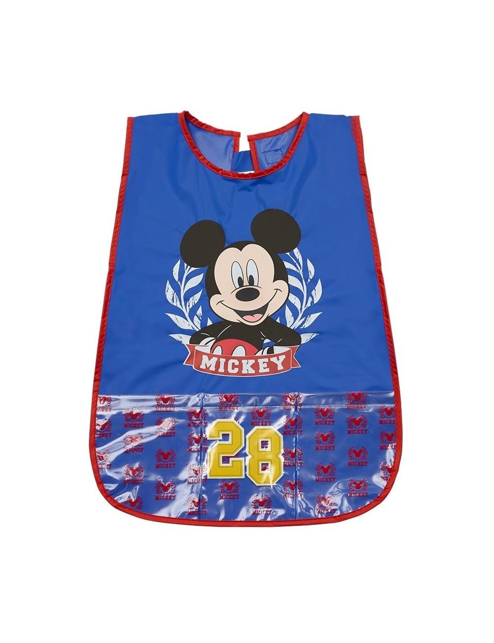 Sort protectie PVC, Mickey Mouse, albastru