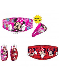 Set 2 bandane, Minnie Mouse, copii 3-8 ani