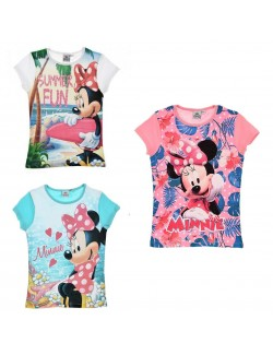 Tricou Minnie Mouse Summer, fete 3 - 8 ani