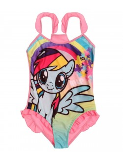Costum baie My Little Pony Rainbow Dash, roz
