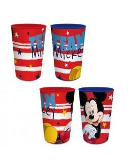 Pahar plastic Mickey Mouse, 280 ml