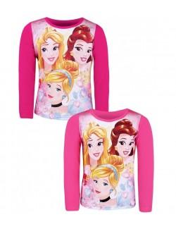 Bluza Printese Disney Belle, Cenusareasa si Aurora 3-8 ani
