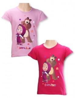 Tricou Masha si Ursul, copii 3-8 ani