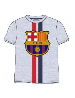 Tricou FC Barcelona, gri, copii 116-146 cm