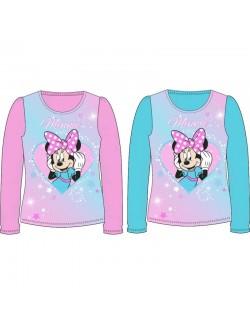 Bluza Minnie Mouse, bleu sau roz, fete 3-8 ani