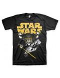 Tricou barbati Star Wars Darth Vader Intimidation