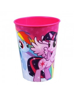 Pahar plastic, My Little Pony, 260 ml