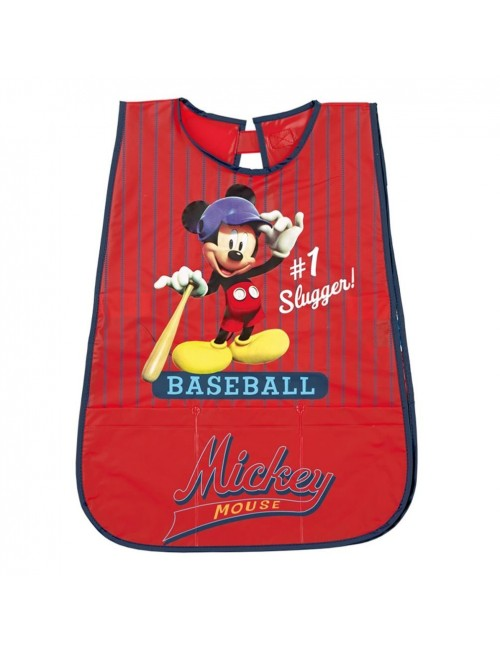Sort protectie PVC, Mickey Mouse, rosu