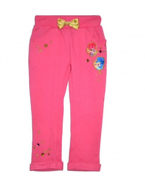 Pantaloni fete, Shimmer si Shine, 3-6 ani, fucsia