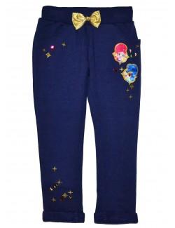 Pantaloni Shimmer si Shine, copii 3-6 ani, indigo