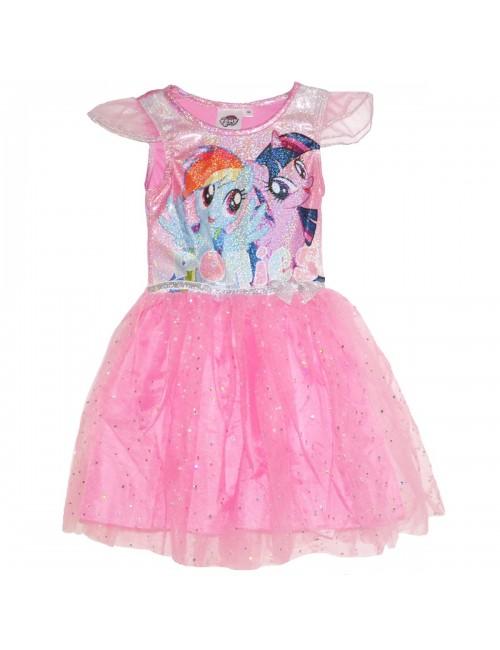 Rochie Micii ponei, roz, copii 3-8 ani
