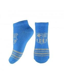 Sosete scurte, FC Barcelona, albastre, 27-38