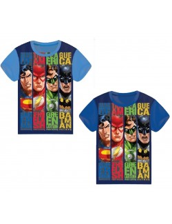 Tricou Justice League, copii 4 - 10 ani