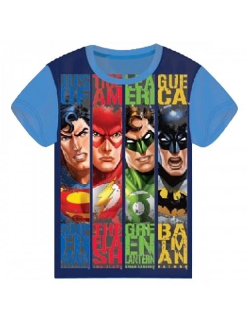 Tricou Justice League, copii 4 - 10  ani